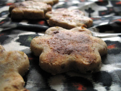 infrared-oven-banana-biscuits
