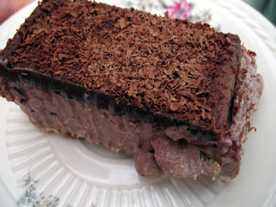 chocolate-tofu-cheesecake