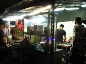 day2 dinner stall