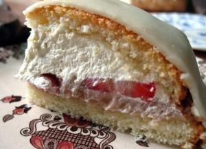 princessa torta slice